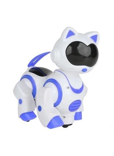 Can-Em Toys Sesli Işıklı Danseden Pilli Robot Kedi Renkli